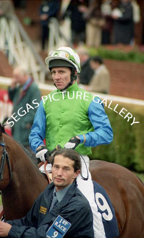 The Jockey Jimmy Fortune @ Newmarket on the 16th October 2004